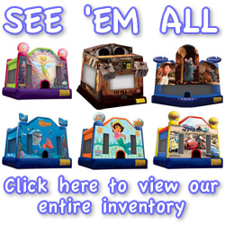 Premier Inflatables Bounce House Inventory