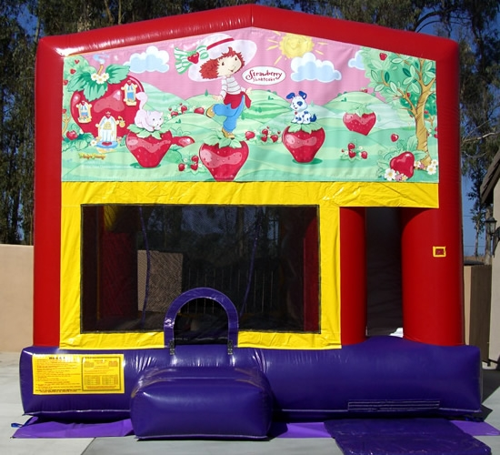 Bounce House Combo Strawberry Shortcake