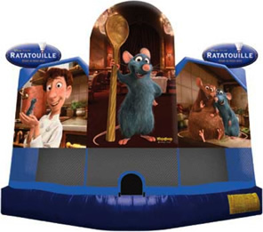 Ratatouille Bounce House