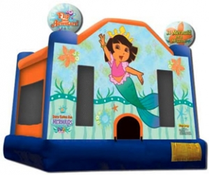 Dora the Explorer and the Mermaids Bounce House