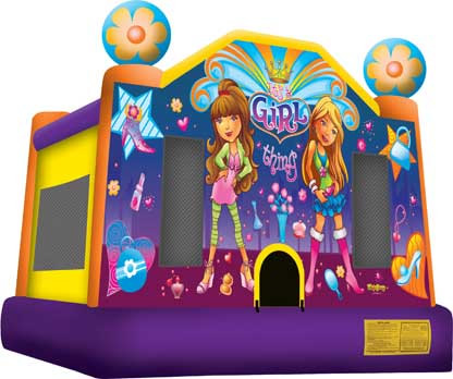 Girls Bounce House
