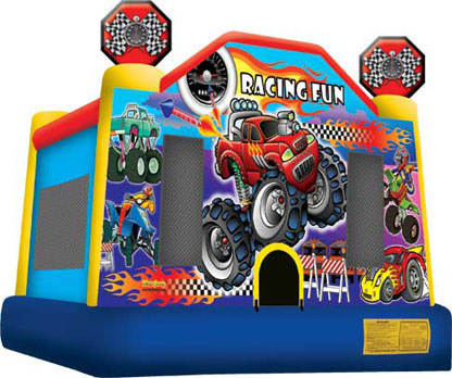 Racing Car Bounce House