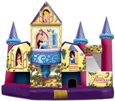 Disney Princesses Bounce House Combo