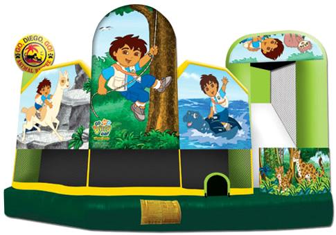 Go, Diego, Go! Bounce House Combo