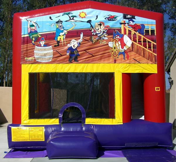 Bounce House Combo Treasure Island