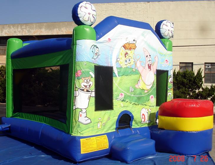Sponge Bob Bounce House Combo