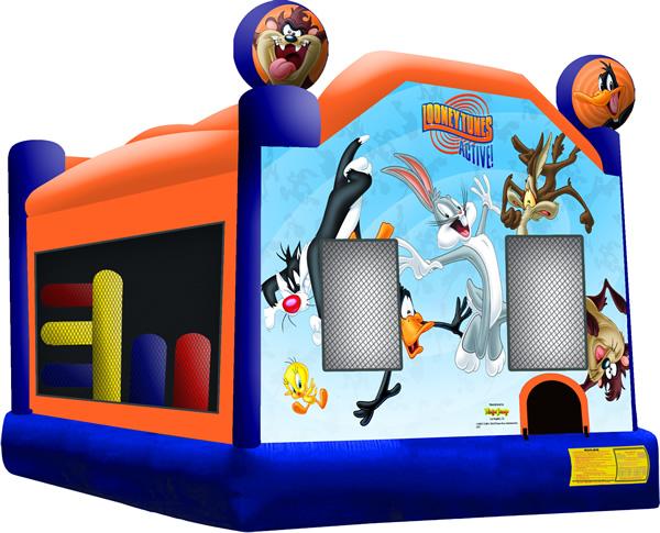 Looney Tunes Bounce House Combo