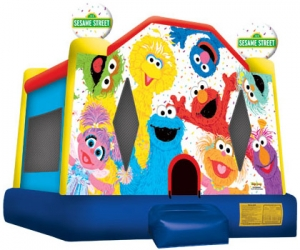 Sesame Street and Friends Bounce House