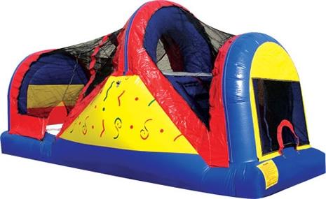 Bounce House Backyard Slide