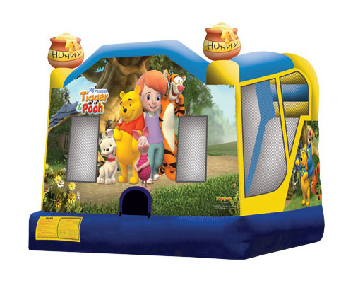 Bounce Houses with Slides and Obstacles